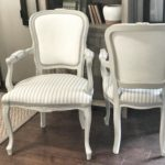 tips on reupholstery, trim, painted fabric