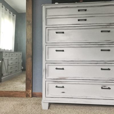 dresser update, his and hers dresser refurbish