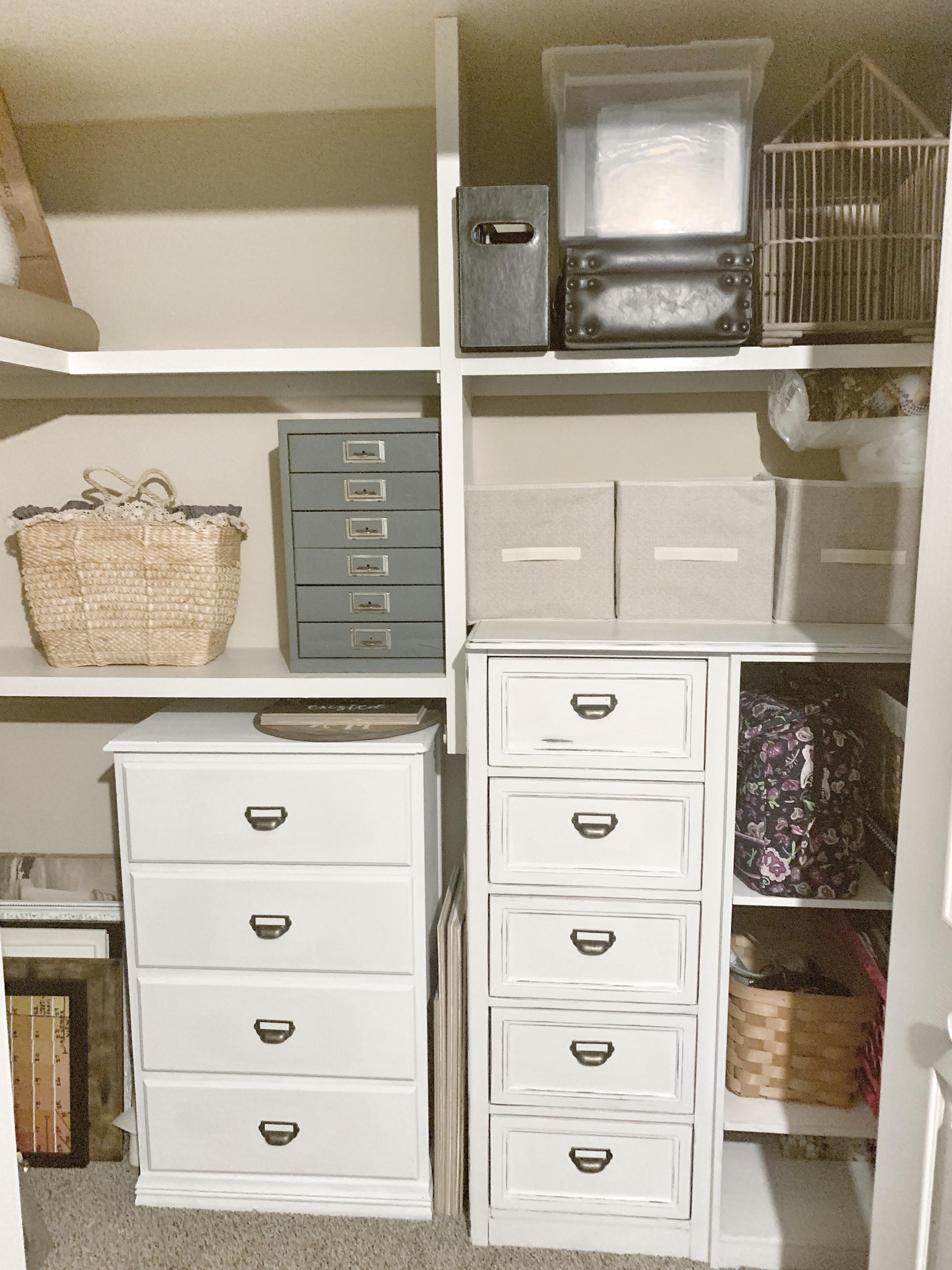 Office Closet Organization Ashley